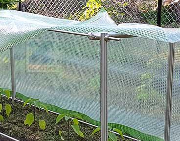 Gartengestelle, Rankgerüste oder Überdachungen aus Edelstahl einfach selber bauen