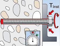 fischer Montagemörtel 300T und Ankerstange FIS A - Durchsteckmontage in Beton - Montage 05