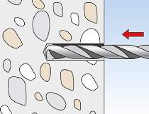 fischer Montagemörtel 300T und Ankerstange FIS A - Vorsteckmontage in Beton - Montage 01