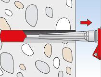 fischer Montagemörtel 300T und Ankerstange FIS A - Vorsteckmontage in Beton - Montage 03