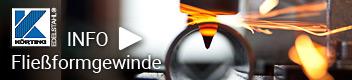 Fließformgewinde - Informationen zum Einsatz im Geländerbau bei Körting EDELSTAHL
