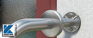Wandbefestigungen aus Edelstahl - zur Montage von Handläufen aus Edelstahlrohr
