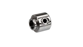 Edelstahlseil - Zubehörteile für Edelstahlseil 6 mm - Seilstopper mit Bund für Seil 6 mm mit Gewindeterminal M8