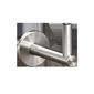 Handlaufhalter mit verdeckter Wandverschraubung und Verschraubung am Handlaufrohr