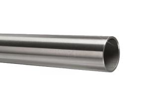 Edelstahlrohr 33,7x2,0 mm Werkstoff 1.4301 Korn 600 geschliffen in 6 Meter - Längen oder Zuschnitt auf Maß