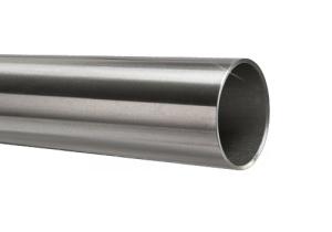 Edelstahlrohr 48,3x3,6 mm Werkstoff 1.4571 Korn 600 geschliffen