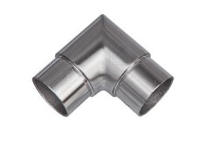 Rohrbogen 90° Gehrung, Schenkel 30x30 mm, zum Einkleben in Rohr 42,4x2,0 mm - Produktansicht