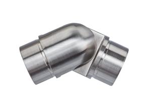 Rohrbogen mit Gelenk 0°-90° zum Einkleben in Rohr 42,4x2,0 mm - Produktansicht
