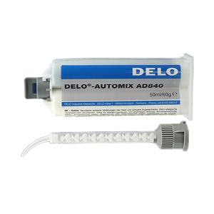 DELO-DUOPOX AD840 (2-K Epoxidharz - Klebstoff) 50ml - Kartusche, zur Verklebung von Edelstahlteilen
