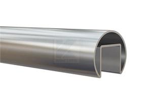 Edelstahl Nutrohr 42,4 x 1,5 mm, W1.4301