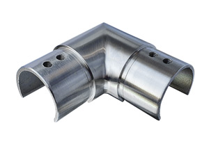 Eckverbinder 90° für Nutrohr 42,4x1,5 mm