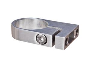Edelstahl Rohrklemmbefestigung für Rohr 42,4 mm
