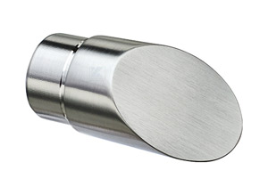 Endkappe 45°schräg für Edelstahl Handlauf 42,4x2,0 mm
