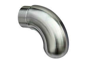 Endkappe 90°gebogen für Edelstahl Handlauf 42,4x2,0 mm