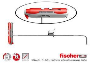fischer DUOTEC 12 - 2-Komponenten Nylon-Kippdübel zur Hohlraumbefestigung