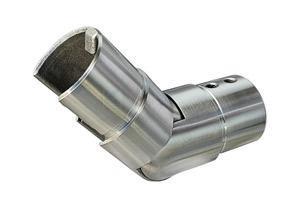 Gelenkverbinder nach oben 25-55° für Nutrohr 42,4x1,5 mm