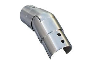 Gelenkverbinder nach unten 25-55° für Nutrohr 42,4x1,5 mm