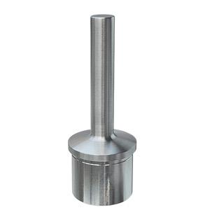 Handlaufstütze aus Edelstahl Guss zum Einkleben in Rohr 42,4x2,0 mm, zum Verschweißen am Geländerhandlauf
