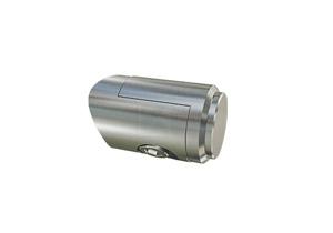 Verbinder zur Verschraubung von Querrohr 33,7 mm an Pfostenrohr 42,4 mm
