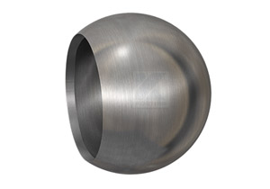 Rohrabschlusskugel  hohl, zum Verschweißen auf Rohr 42,4 mm
