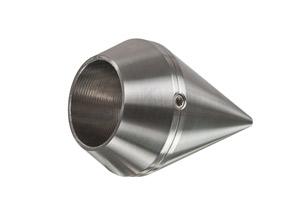 Rohrabschluss - Zierspitze für Rohr 26,9 mm