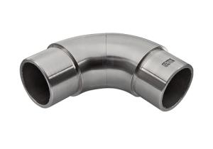 drehbarer Rohrbogen zum Einkleben in Rohr 42,4x2,0 mm - Produktansicht