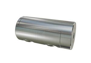 Rohrverschraubung aus Edelstahl zum Verschweißen mit Rohr 42,4 mm