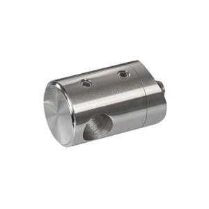 Stabhalter für Geländerpfosten zur Montage von Querstreben aus Rundmaterial 12 mm