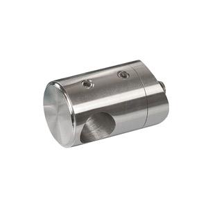 Stabhalter für Geländerpfosten für Rundmaterial 14 mm, mit Sackbohrung links geschlossen