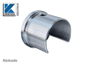 Endkappe für Nutrohr 42,4 x 1,5 mm - Ansicht von hinten